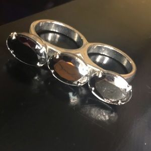 Double triple ring